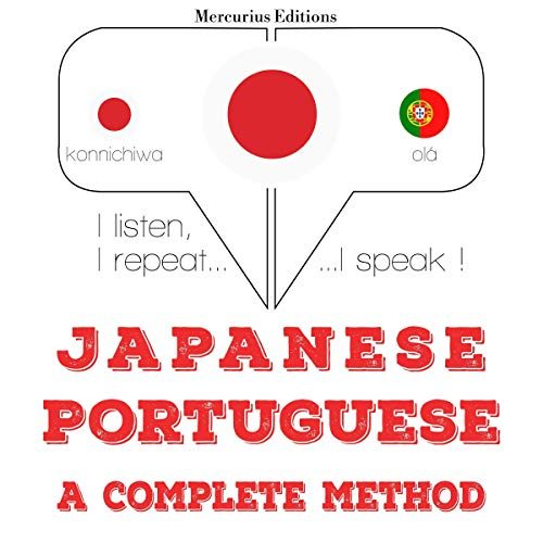 Japanese - Portuguese. a complete method cover art