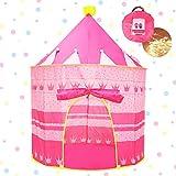Opret Kinderzelt, Prinzessin Schloss Mädchen Spielzelt Kinderzimmer Zelt, Kinder Geschenke Zelt...