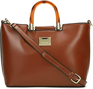 Van Heusen Spring-Summer 21 This Bag is Smooth Finished with Classy Look which Compliments Your Wardrobe (Rust)