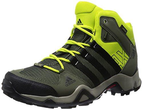 adidas Originals Herren AX2 MID GTX Trekking- & Wanderstiefel, Violett (Collegiate Navy/Core Black/Solar Red), 45 1/3