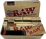 Exclusif REDS Boite métal Raw Classic avec Feuilles et Filtres en carton