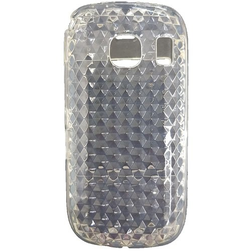 Diva Custodia in Silicone/Silicone Case Nokia C2-02 / C2-03 / C2-06 (Trasparente Prisma)
