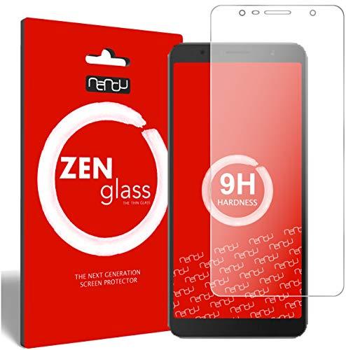 ZenGlass Flexible Glas-Folie kompatibel mit Alcatel 3C Panzerfolie I Bildschirm-Schutzfolie 9H