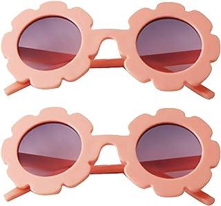 Amuzocity - Amuzocity 2 Pares de Gafas de Sol UV400 para Niñas 2 3 4 5 años