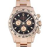 ロレックス ROLEX デイトナ 116505 ブラック/ピンク文字盤 中古 腕時計 メンズ (W209153) 並行輸入品