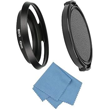 FOTGA Vissez-/à Mount 62mm M/étal Grand Angle Pare-Soleil Lens Hood pour Canon Nikon Pentax Sony Objectif 62 mm