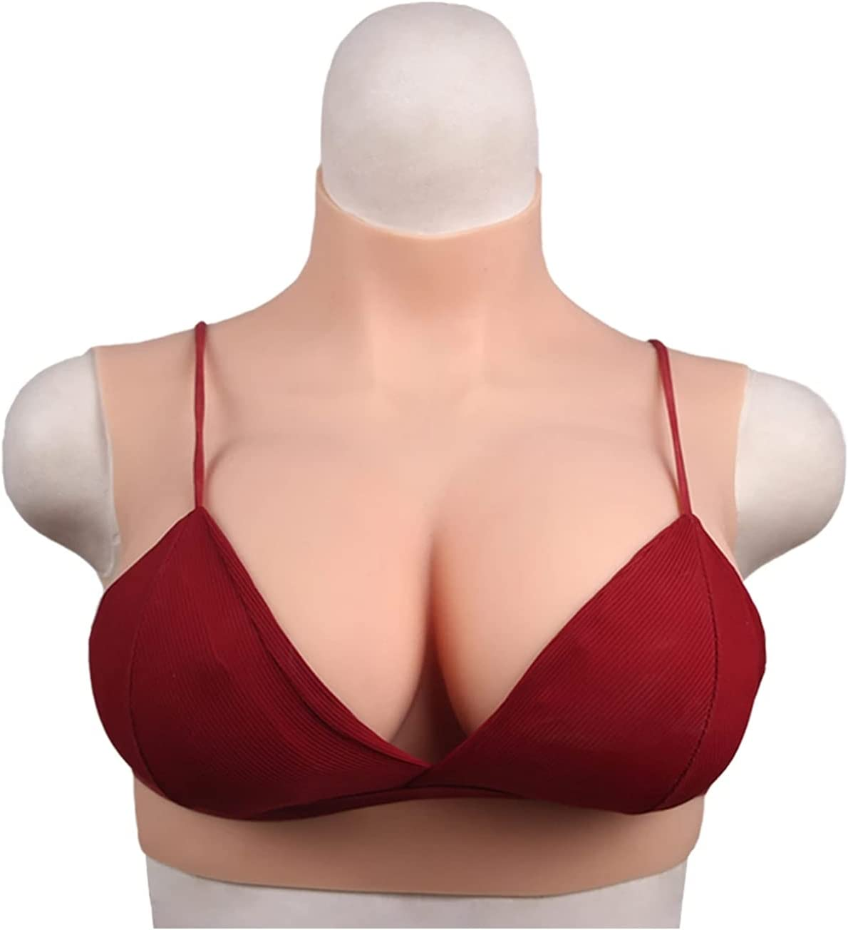 Silicone Breast Forms with Silk Limited price sale Filled Boobs BCDEG Inexpensive Fake for Cup