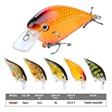 Proberos® Crankbaits Set Lure Fishing Hard Baits Swimbaits Boat Ocean Topwater Lures Kit