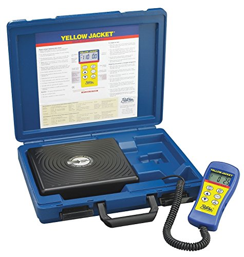 Yellow Jacket 68802 Electronic Refrigerant Scale NEW