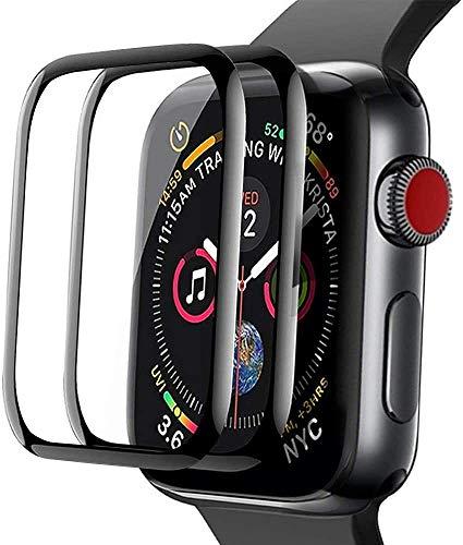 [2 Stück]Aottom Kompatibel mit Schutzfolien Apple Watch 3 42mm Panzerglas,Schutz Apple Watch Series 3 42mm Bildschirmschutz Folie Glass iWatch 42mm Glas Screen Protector Glass für iWatch Series 3/2/1