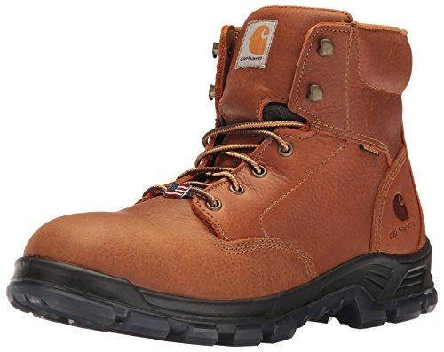 Carhartt Men's CMZ6040 Made in USA 6' Softtoe Work Boot, Brown, 10.5 M...