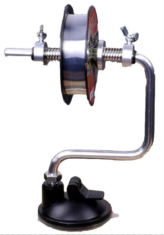 簡単 ライン 巻取り ラインワインダー 糸巻き器 吸盤 ロック 機能 付き 釣り 用品 道具