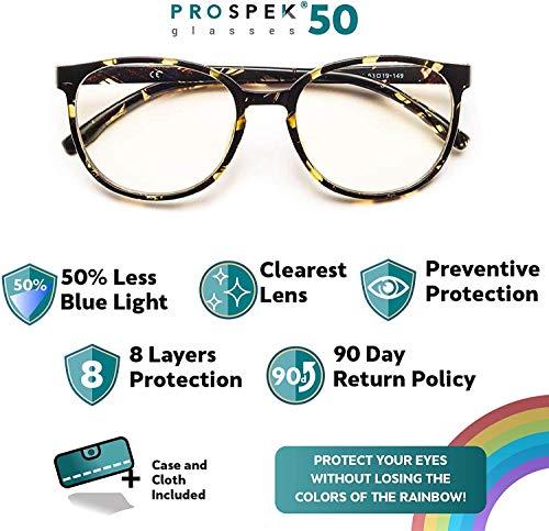 Product Image 1: PROSPEK Blue Light Blocking Glasses for Women, Computer Glasses – Artist (+0.00 Magnification)