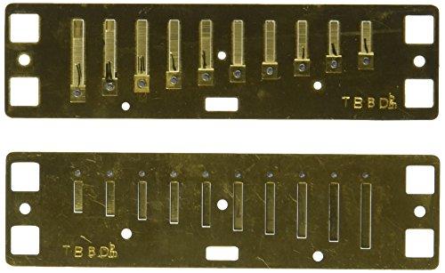 Lee Oskar 797154 - Repuesto para armónica menor, Re bemol...