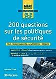 200 questions sur les politiques de sécurité