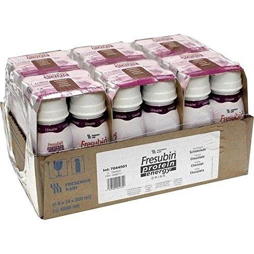 Fresenius Kabi Fresubin Protein Energy Drink Schokolade Trinkflasche, 6 x 4 x 200 ml, 1er Pack (1 x 5,5 kg)