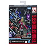 Transformers Toys Studio Series 52 Deluxe Revenge of The Fallen Movie Arcee Chromia Elita-1 Action Figure 3 Pack, 4.5'