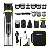 <span class='highlight'><span class='highlight'>Roziapro</span></span> Beard Trimmer 15 in 1 Multifunctional Hair Clippers Men Cordless Shavers for Men IPX5 Waterproof Hair Trimmer Trimmers for Men Magnetic USB Charging