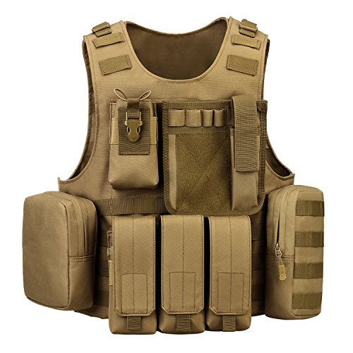 ArcEnCiel Tactical Molle Vest