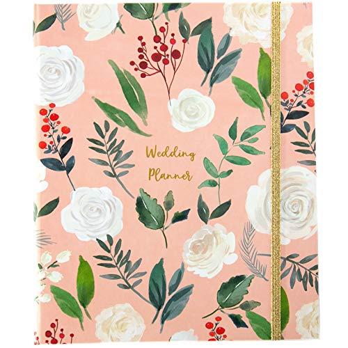 Lusso UK wedding planner Book | Beautiful souvenir regalo di fidanzamento perfetto per coppie | Ideale per souvenir Millennial Pink