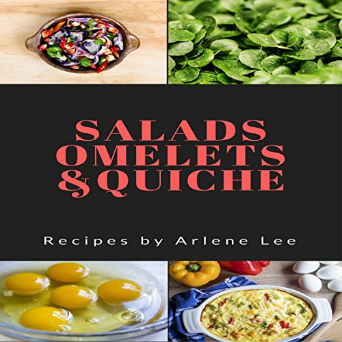 Salads Omelets Quiche Recipes  By  cover art