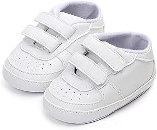 459d112db4f8b Nagodu Shoes Zapato Tipo Tenis Casual para Bebes Unisex Ideal para niños y  niñas Totalmente Blancos