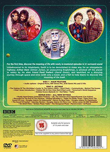 The Hitchhiker's Guide To The Galaxy Special Edition [DVD] [2018]