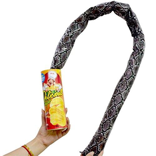 Chips Kann Prank, Scherzartikel für Kinder, Prank Artikel, Spinnen Prank, streiche, mit Pop-up Schlange Spielzeug , Streich Snake Spielzeug Garten Props Witz Spielzeug für Party