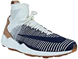 Nike Zoom Mercurial XI FK Hombres Hi Top 844626 Sneakers Turnschuhe (UK 9 US 10 EU 44, Sail College Navy Grey 101)