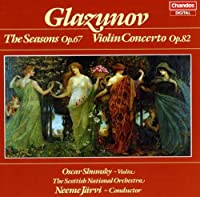 Seasons / Violin Concerto in a by A. Glazunov (2013-05-03)