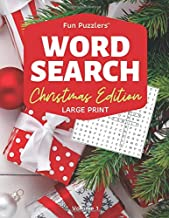 "Word Search: Christmas Edition Volume 1: 8.5"" x 11"" Large Print (Fun Puzzlers Large Print Word Search Books)"