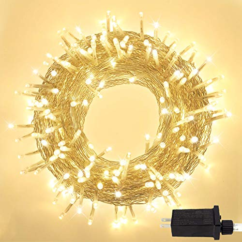 Super-Long 95FT 240 LED Christmas String Lights Outdoor/Indoor, Extra-Bright Christmas Tree Lights with 8 Modes, Plug in Fairy String Lights for...