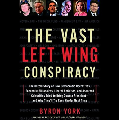The Vast Left Wing Conspiracy audiobook cover art