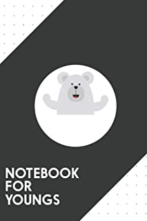 Notebook for Youngs: Dotted Journal with Strong like a Bear Design - Cool Gift for a friend or family who loves girl prese...