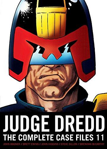 Judge Dredd: The Complete Case Files, Volume 11