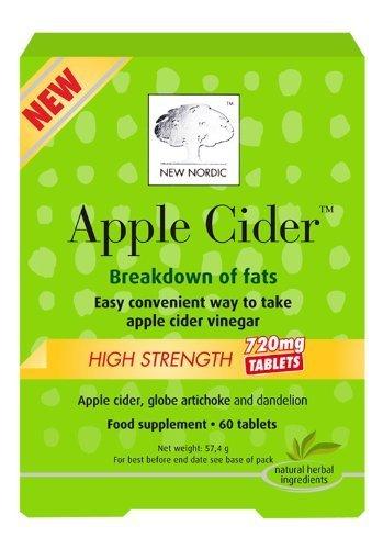 New Nordic Apple Cider High Strength 60 tablet - CLF-NN-96604