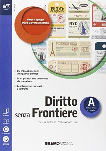 Diritto senza Frontiere, Volume A, Classi Terza e Quarta: 1
