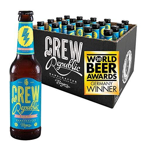 CREW REPUBLIC® 7:45 Escalation Double India Pale Ale Craft Bier | Gewinner World Beer Award Imperial IPA 2020 | Bierspezialität nach deutschem Reinheitsgebot in Bayern gebraut (20 x 0,33l)