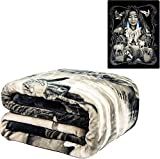 DGA Day of The Dead Native American Mother Earth Flannel Queen Plush Blanket - Officially Licensed - Super Soft & Thick