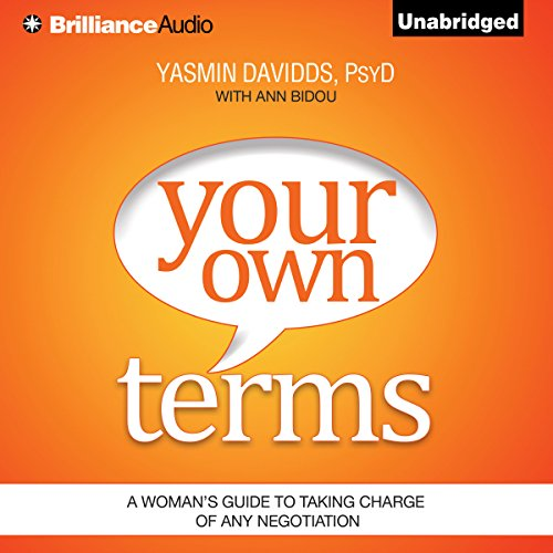 Your Own Terms audiobook cover art