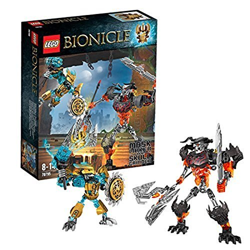 LEGO Bionicle 70795 - Maskenmacher vs. Totenkopf-Brecher