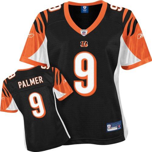 NFL Football Cincinnati Bengals Carson Palmer #9 T-Shirt Trikot Damen Jersey (M)