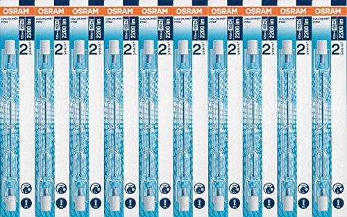 10 Stück  Halogenstab R7s 120 Watt 117.6 mm 64696 Haloline Pro