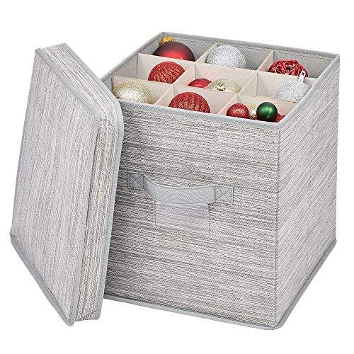 mDesign Caja organizadora con 27 subdivisiones – Organizad