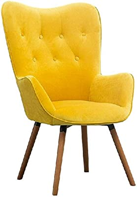 Tufted Wingback Chair Velvet Accent Chair Button Detail Guest Chair Seat Back Furniture Modern/Contemporary