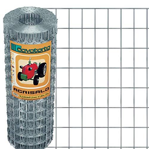Cavatorta SZ08080025B Rete Elettrosaldata Zincata Prima Della Saldatura
