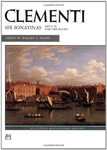 6 Sonatinas (Alfred Masterwork Edition)