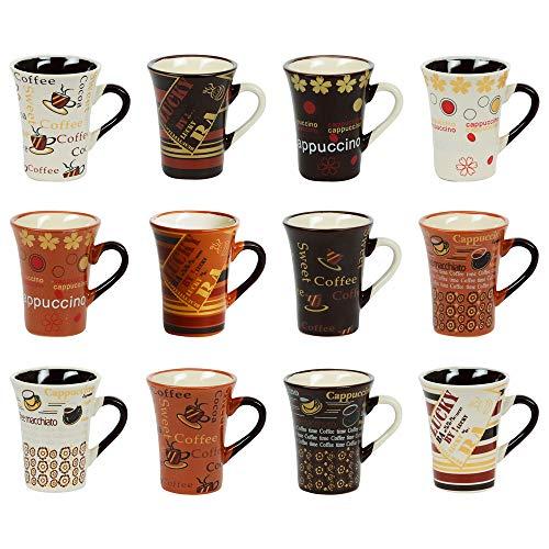 Table Passion - Coffret 12 tasses à café CAPPUCCINO COLLECTOR