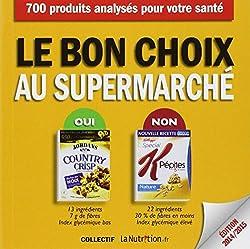livre le bon choix au supermarché