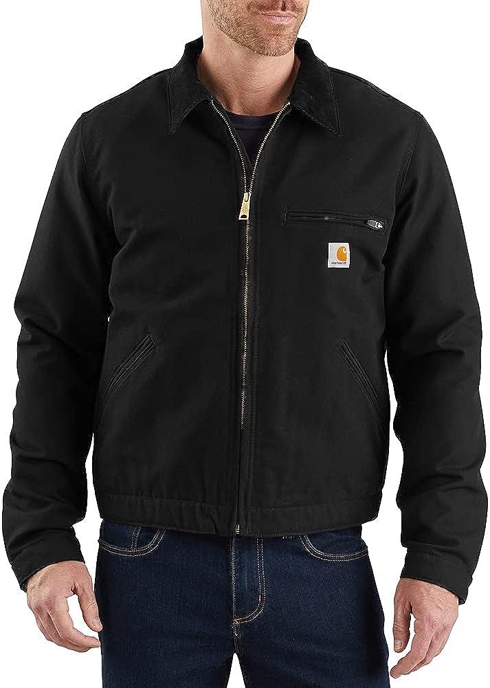 Carhartt Men's Duck Detroit Jacket (Regular and Big & Tall Sizes)